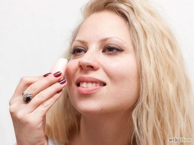 Imagen titulada cicatrices del acné de IDR con manteca de karité Paso 2