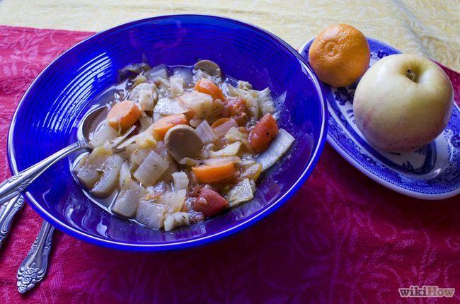 ¿Cómo hacer la dieta de la sopa de repollo