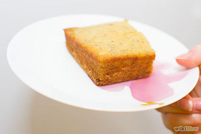 Realización de imágenes titulada Banana Cake Paso 17