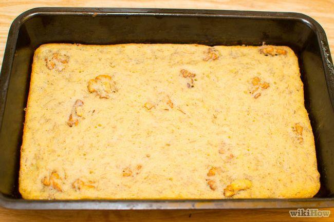 Realización de imágenes titulada Banana Cake Paso 24