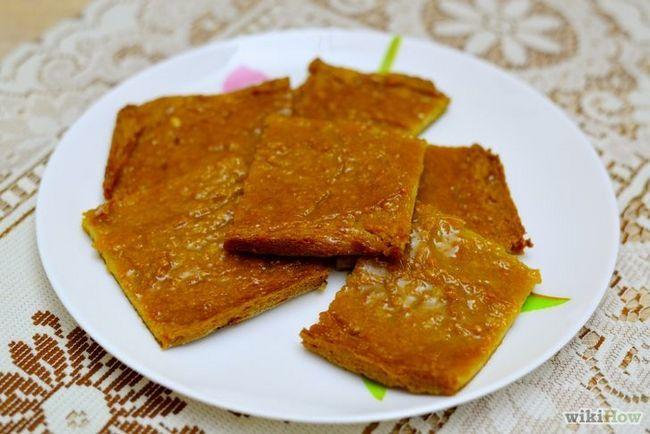 Imagen titulada Make mantequilla de cacahuete Hoja torta final