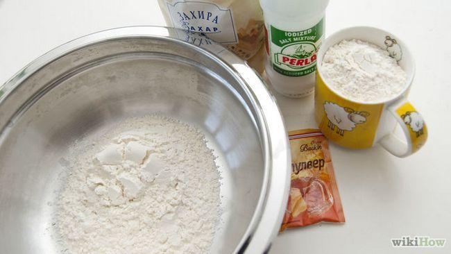Realización de imágenes titulada Torta de mármol Paso 3