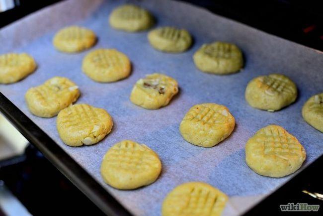 Imagen titulada Hacer Gluten Almendra y Chocolate Chip Cookies Paso 12