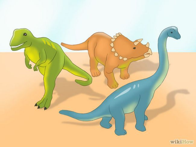 Realización de imágenes titulada huevos de dinosaurio Paso 8