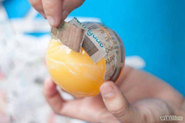 Imagen titulada Make cartón piedra Huevos Paso 4