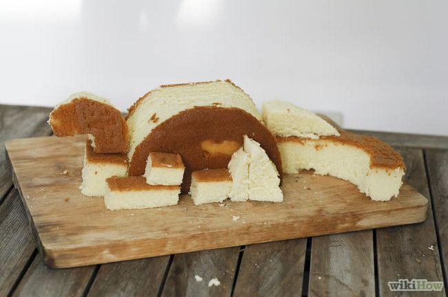 Imagen titulada hacer una torta de cumpleaños del dinosaurio 3D Paso 5