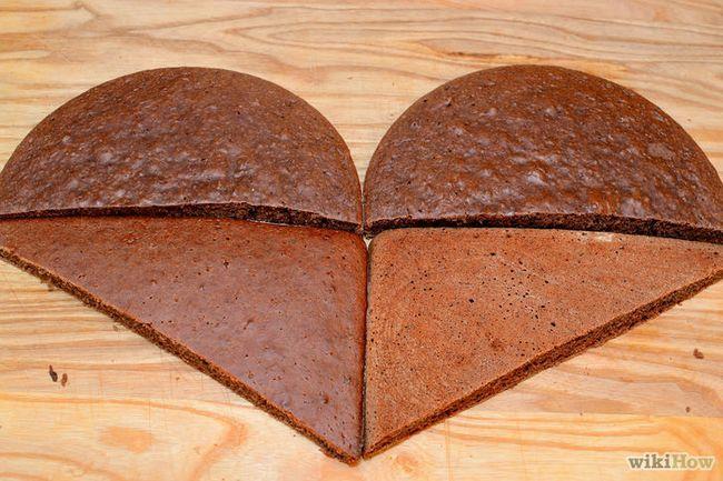 Imagen titulada hacer una torta en forma de corazón Paso 17