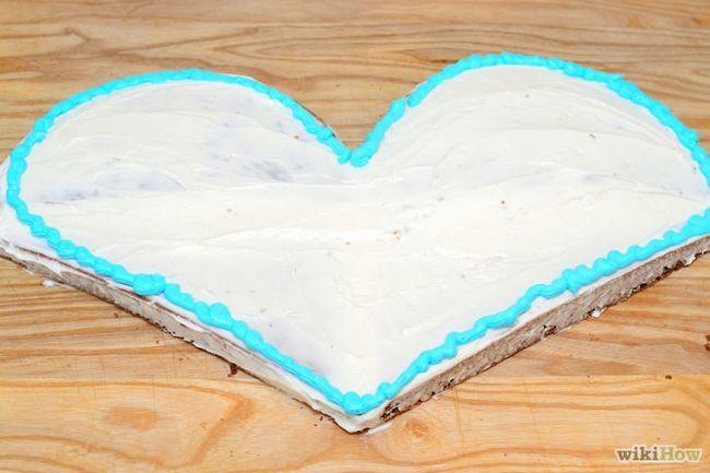 Imagen titulada hacer una torta en forma de corazón Paso 19