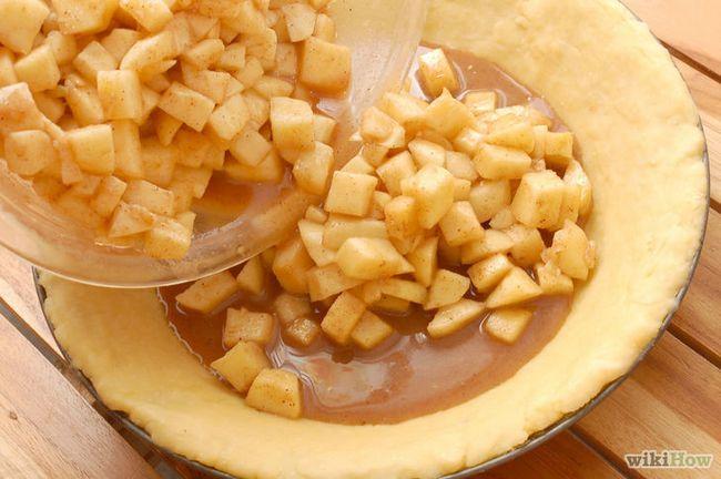 Imagen titulada Hornear un pastel de manzana desde cero Paso 13