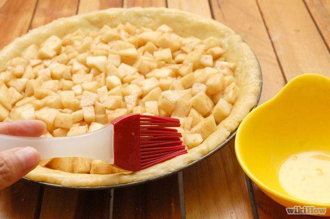 Imagen titulada Hornear un pastel de manzana desde cero Paso 14