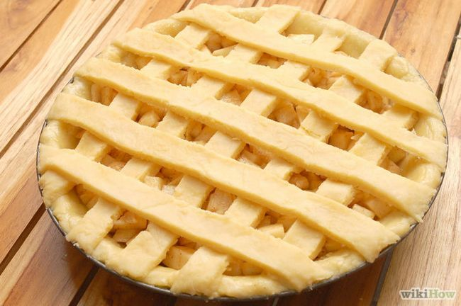 Imagen titulada Hornear un pastel de manzana desde cero Paso 15