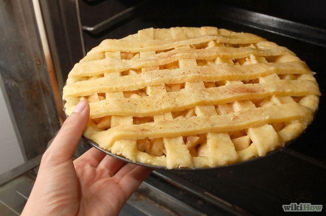 Imagen titulada Hornear un pastel de manzana desde cero Paso 17