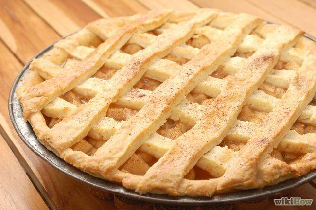 Imagen titulada Hornear un pastel de manzana desde cero Introducción