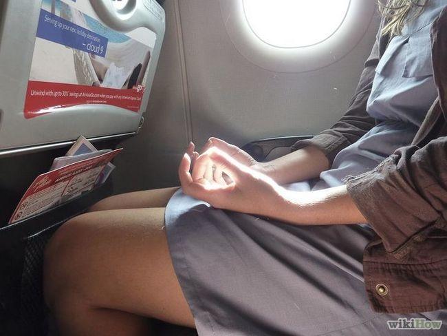 Imagen titulada estadía calma antes de un viaje en avión Paso 5