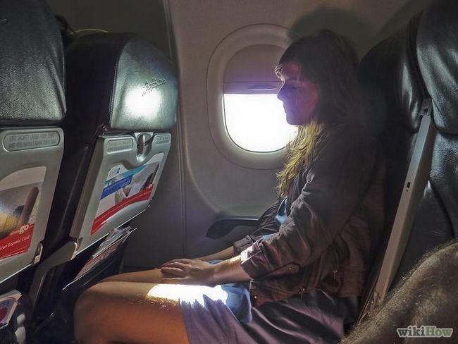 Imagen titulada estadía calma antes de un viaje en avión Paso 6