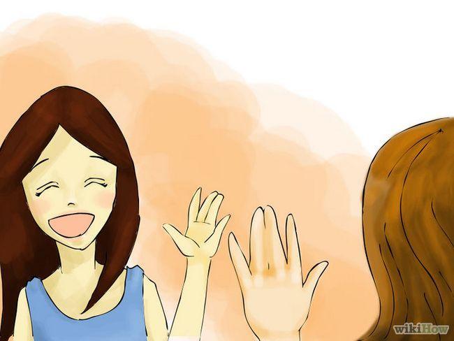 Cómo hacer que una chica conoce a su mejor amiga