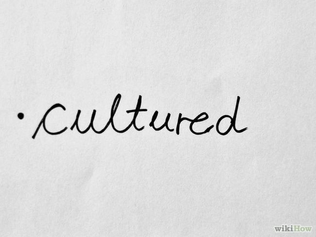 Imagen titulada convertirse en una persona de cultura Paso 1