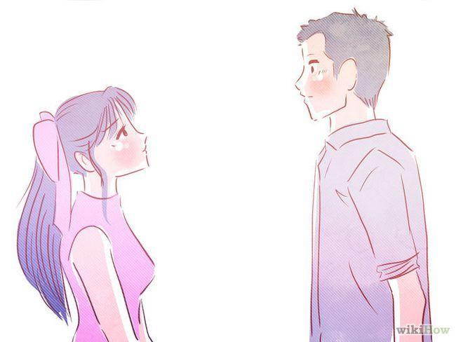 Como con su novio si estás enamorada de él