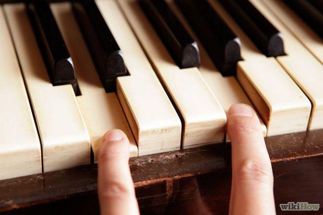 La transposición de tonos en el piano