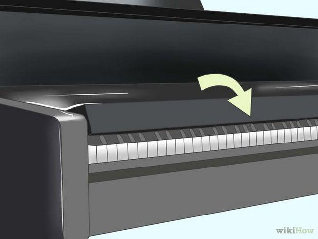 El transporte de un piano vertical