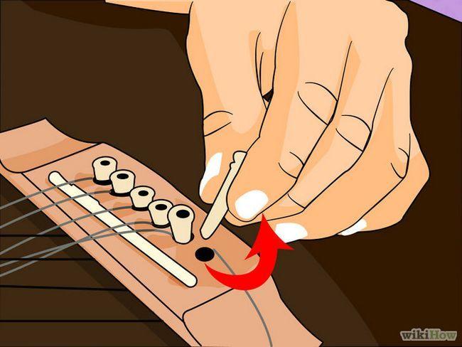 Sustitución de las cuerdas de la guitarra