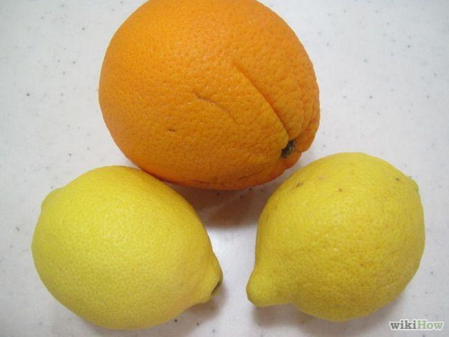 Imagen titulada Use cáscaras de frutas cítricas en el hogar y jardín Paso 1
