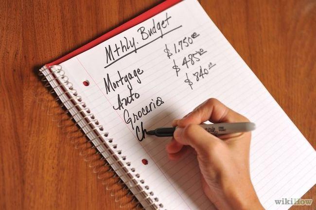 Utilizando el sistema de sobres para el presupuesto de los hogares