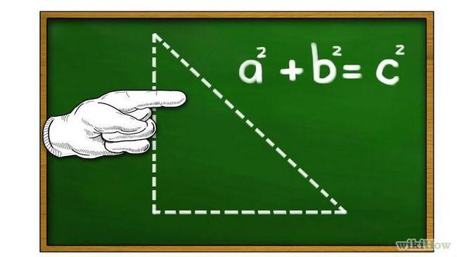 Usando el teorema de pitágoras