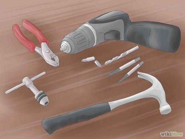 El uso de un extractor de tornillos