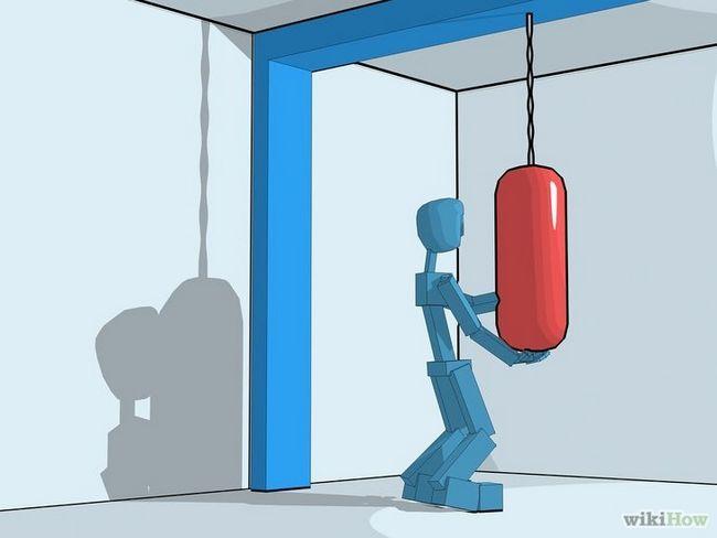 Cómo utilizar un saco de boxeo