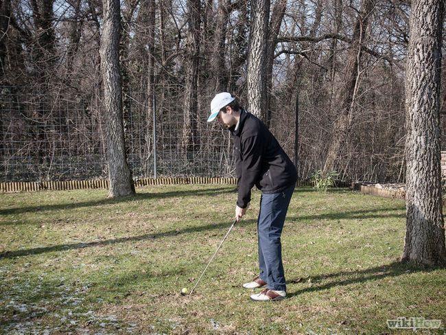 Cómo utilizar un palo de golf