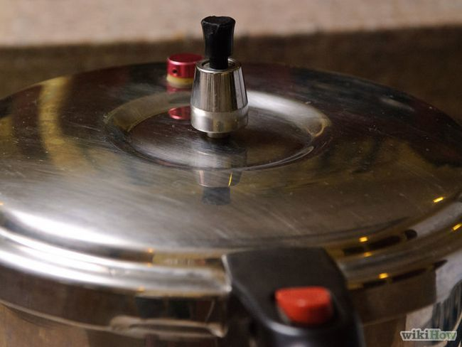 El uso de una olla a presión