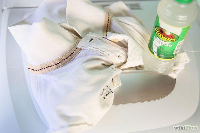 El uso de vinagre para lavar la ropa