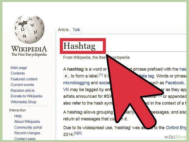 Utilizando hashtags en twitter