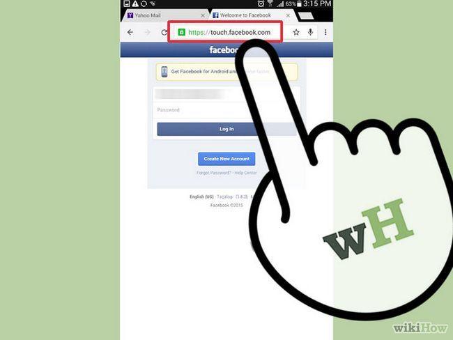 El uso de facebook locales