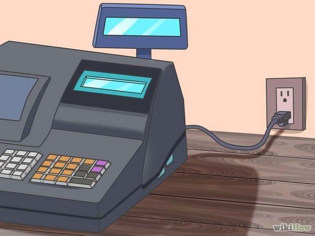 Cómo utilizar una caja registradora