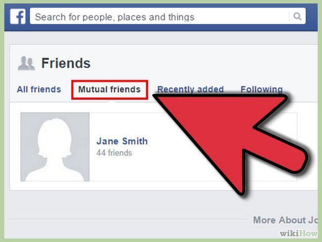 Visualización de una foto privada en facebook