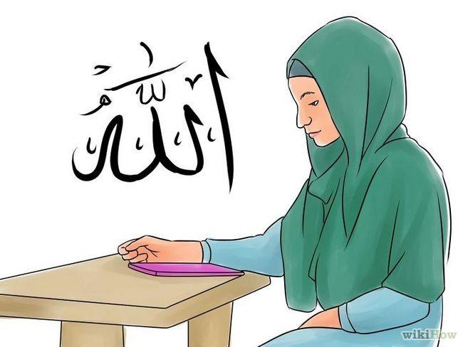 Imagen titulada Ser un musulmán Paso 1
