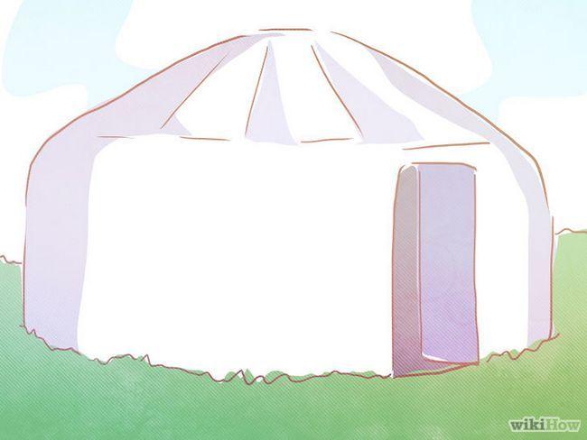 ¿Cómo vivir en una yurta