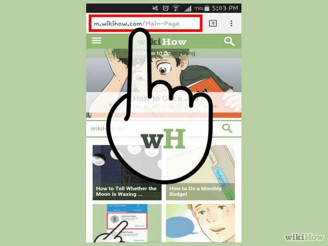 Cómo volver a ser capaz de acceder a una página web específica