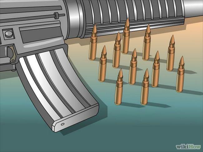 Restablecimiento de un rifle